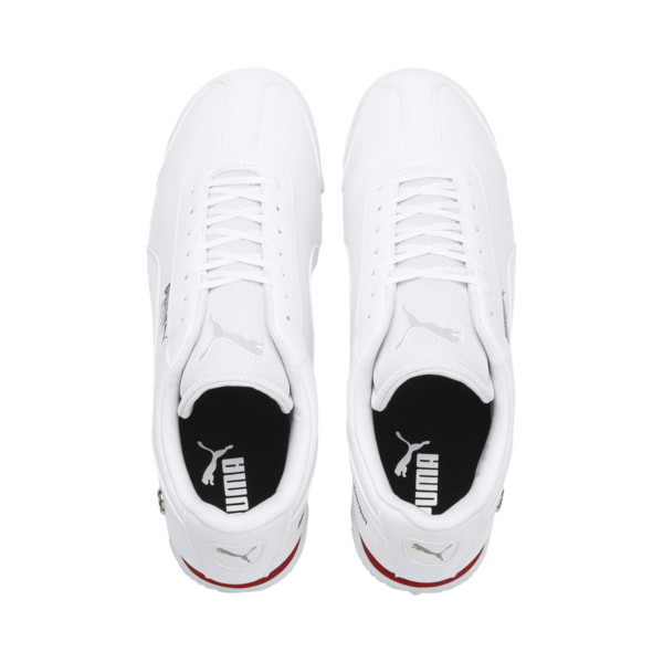 BMW M Motorsport Roma Men's Sneakers, Puma White-Puma White, large