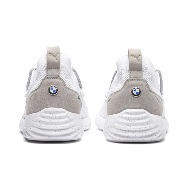 BMW M Motorsport SpeedCat Fusefit Trainers, Puma White-Gray Violet, large