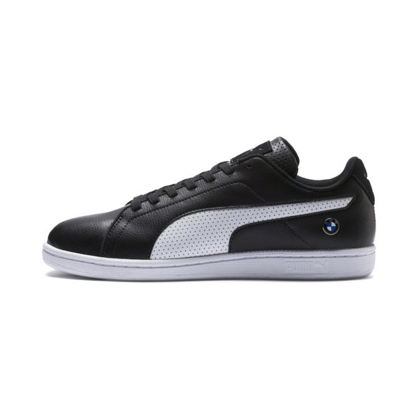 BMW M Motorsport Court Perf Sneakers, Anthracite-Puma White, large