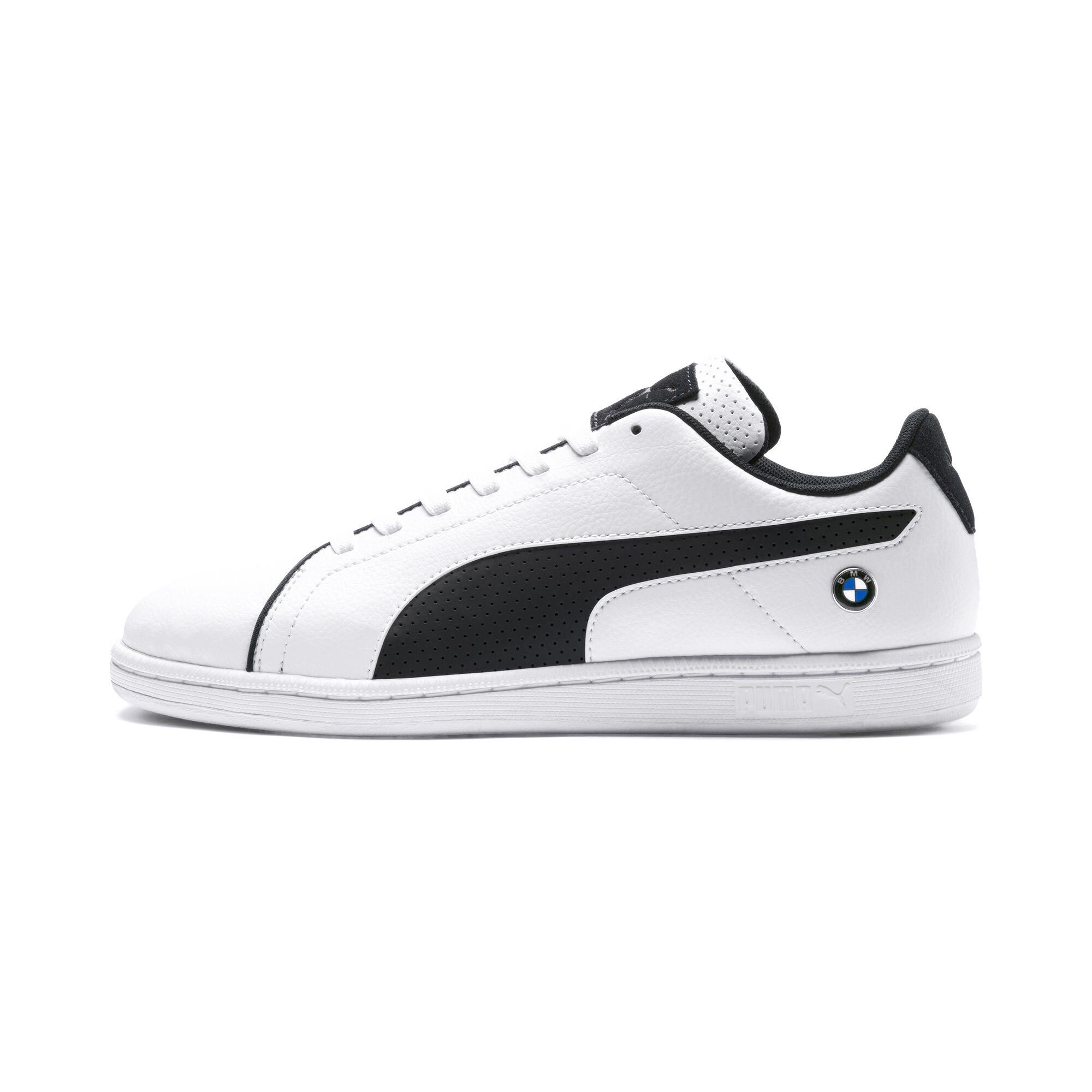 PUMA-BMW-M-Motorsport-Court-Perf-Sneaker-Maenner-Schuhe-Neu Indexbild 4