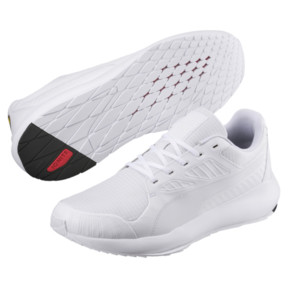 Thumbnail 2 of Scuderia Ferrari Evo Cat II Sneakers, Puma White-Puma White, medium