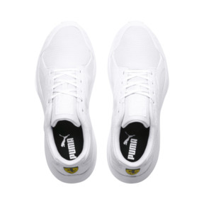 Thumbnail 6 of Scuderia Ferrari Evo Cat II Sneakers, Puma White-Puma White, medium