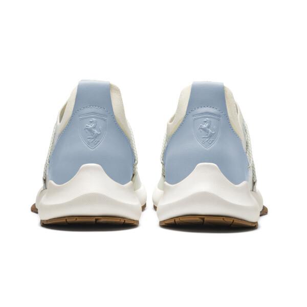 Ferrari Evo Cat ll Sock Trainers, Whisper White-Blue Fog-Wht, large