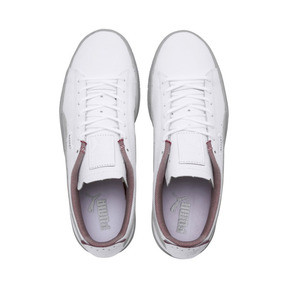 Thumbnail 6 of Scuderia Ferrari Basket Sneakers, Puma White-Glacier Gray, medium