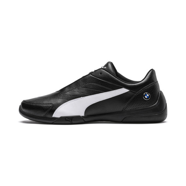 BMW M Motorsport Kart Cat III Trainers, Anthracite-Puma White, large