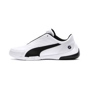 Thumbnail 1 of BMW M Motorsport Kart Cat III Shoes, Puma White-Anthracite, medium