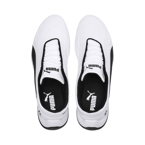 BMW M Motorsport Kart Cat III Trainers, Puma White-Anthracite, large