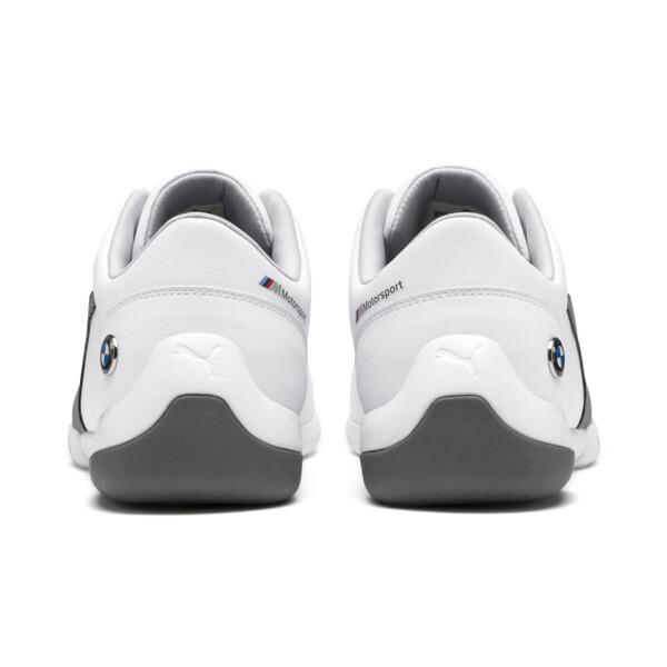 BMW M Motorsport Kart Cat III Sneaker, Puma White-Smoked Pearl, large