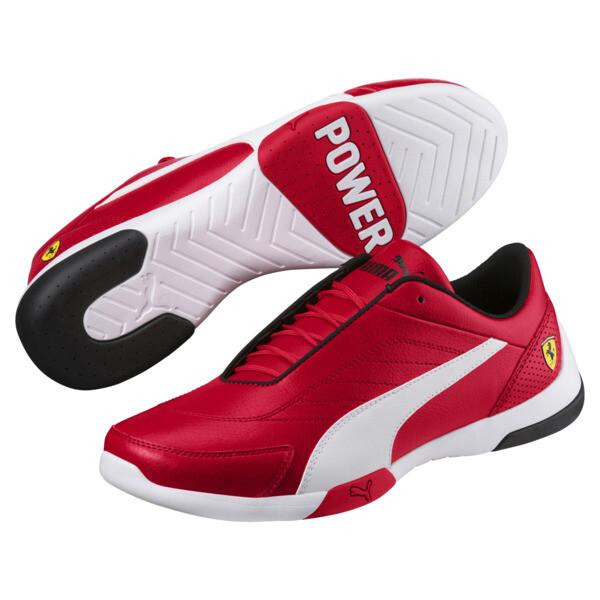Ferrari Kart Cat III Trainers, Rosso Corsa-Puma White, large