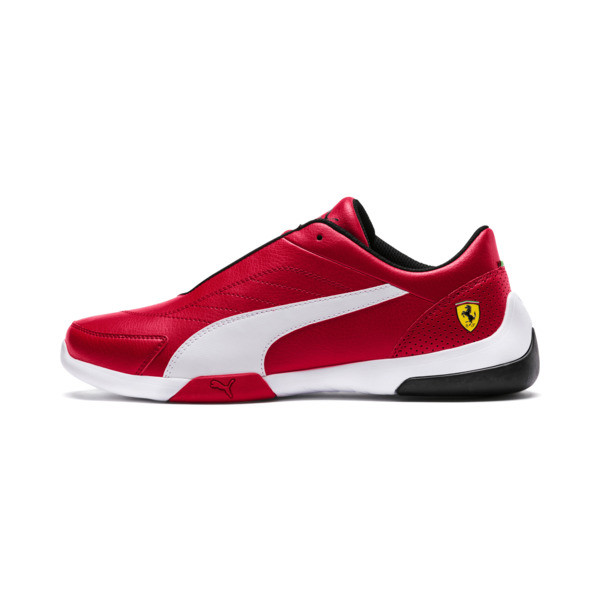 Scuderia Ferrari Kart Cat III Shoes, Rosso Corsa-Puma White, large