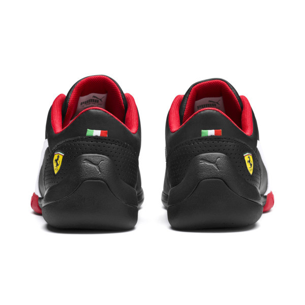 Ferrari Kart Cat III Trainers, Puma Black-Puma White, large
