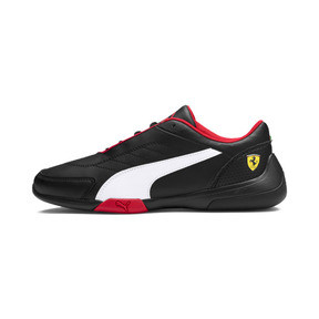Thumbnail 1 of Scuderia Ferrari Kart Cat III Shoes, Puma Black-Puma White, medium