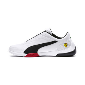 Thumbnail 1 of Ferrari Kart Cat III Trainers, Puma White-Puma Black, medium