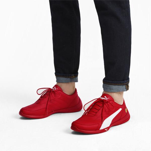 ZapatosScuderiaFerrariKart Cat III, Rosso Corsa-White, grande