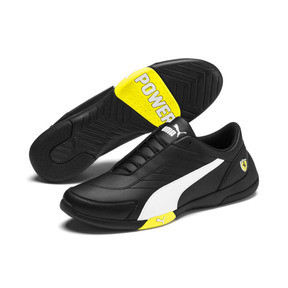 Thumbnail 3 of Scuderia Ferrari Kart Cat III Shoes, Black-White-Blazing Yellow, medium