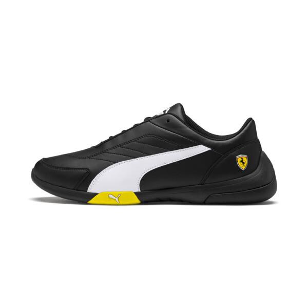 Scuderia Ferrari Kart Cat III Shoes, Black-White-Blazing Yellow, large