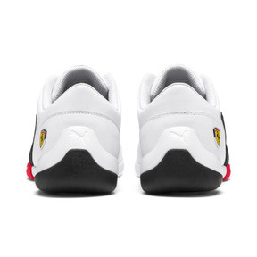 Miniatura 5 de ZapatosScuderiaFerrariKart Cat III, White-Black-Rosso Corsa, mediano