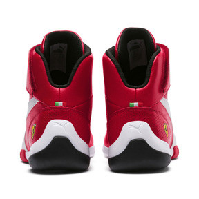 Thumbnail 4 of Scuderia Ferrari Kart Cat Mid III Hi Top Shoes, Rosso Corsa-Puma White, medium