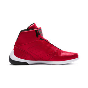 Thumbnail 5 of Scuderia Ferrari Kart Cat Mid III Hi Top Shoes, Rosso Corsa-Puma White, medium