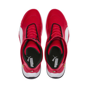 Thumbnail 6 of Scuderia Ferrari Kart Cat Mid III Hi Top Shoes, Rosso Corsa-Puma White, medium