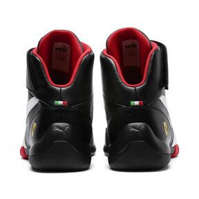Thumbnail 4 of Scuderia Ferrari Kart Cat Mid III Hi Top Shoes, Puma Black-Puma White, medium