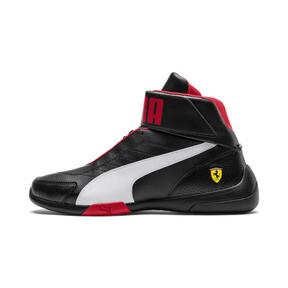 Thumbnail 1 of Scuderia Ferrari Kart Cat Mid III Hi Top Shoes, Puma Black-Puma White, medium