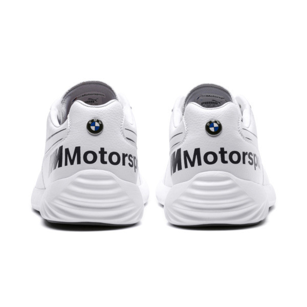 BMW M Motorsport SpeedCat Evo Synth Sneakers, White-White-Anthracite, large