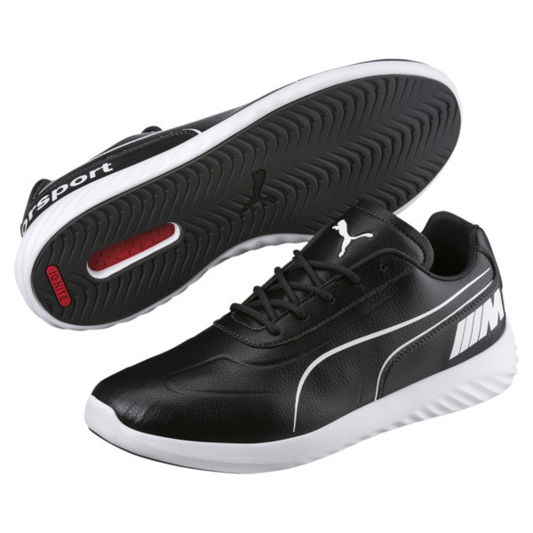 BMW M Motorsport SpeedCat Evo Synth Sneakers, Anthracite-Puma White, large