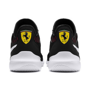 Thumbnail 4 of Ferrari Evo Cat Mace Trainers, Puma Black-Puma White, medium