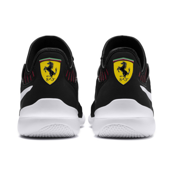 Ferrari Evo Cat Mace Trainers, Puma Black-Puma White, large