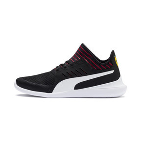 Thumbnail 1 of Ferrari Evo Cat Mace Sneaker, Puma Black-Puma White, medium