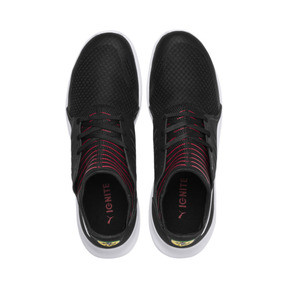 Thumbnail 7 of Ferrari Evo Cat Mace Sneaker, Puma Black-Puma White, medium