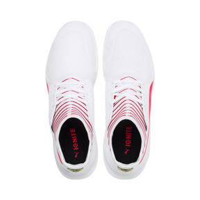 Thumbnail 7 of Ferrari Evo Cat Mace Trainers, Puma White-Rosso Corsa, medium
