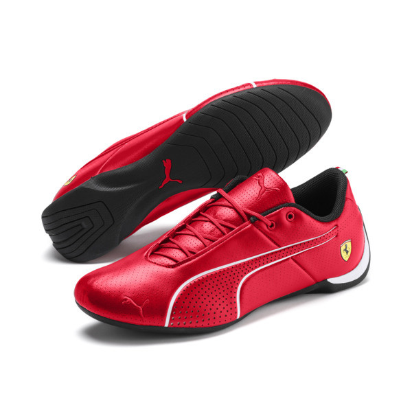 Ferrari Future Cat Ultra Trainers, Rosso Corsa-Puma White, large