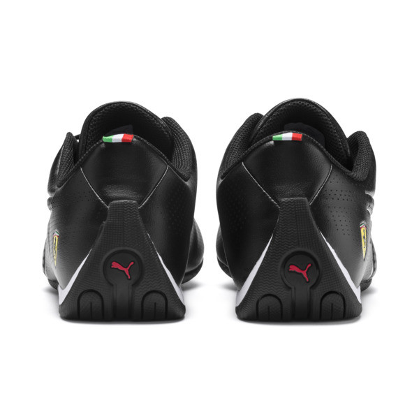 Ferrari Future Cat Ultra Trainers, Puma Black-Puma White, large