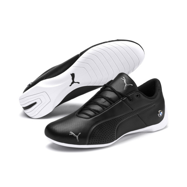 BMW Motorsport Future Cat Ultra Trainers, Black-White-Gray Violet, large
