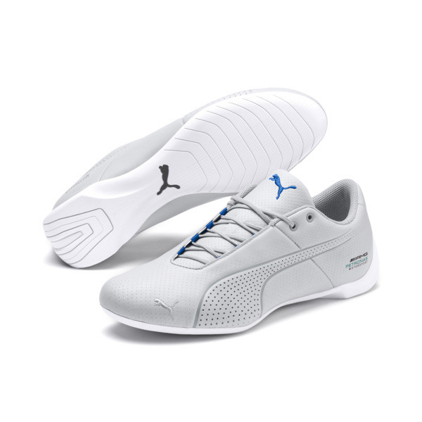 Mercedes AMG Petronas Future Cat Ultra Sneakers, Mercedes Tm Slvr-Wht-Indigo, large