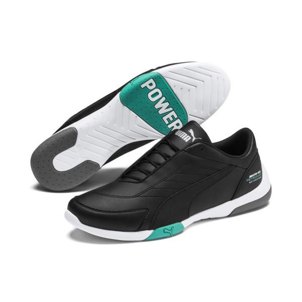 Mercedes AMG Petronas Kart Cat III Shoes, Puma Black-Puma Black, large
