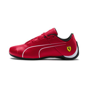 Anteprima 1 di Ferrari Future Cat Ultra Kids' Trainers, Rosso Corsa-Puma White, medio