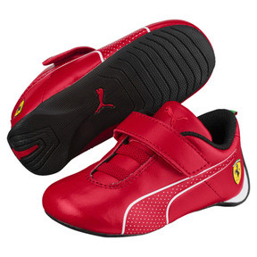 Thumbnail 2 of SF Future Cat Ultra V Preschool, Rosso Corsa-Puma White, medium