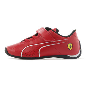Thumbnail 1 of SF Future Cat Ultra V Preschool, Rosso Corsa-Puma White, medium