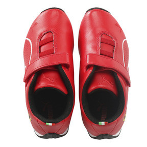 Thumbnail 6 of SF Future Cat Ultra V Preschool, Rosso Corsa-Puma White, medium