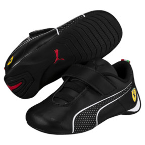 Thumbnail 2 of Scuderia Ferrari Future Cat Ultra Toddler Shoes, Puma Black-Puma White, medium