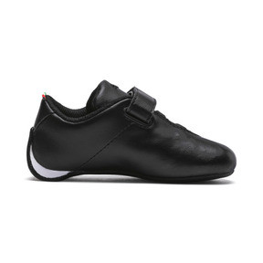 Thumbnail 5 of Scuderia Ferrari Future Cat Ultra Toddler Shoes, Puma Black-Puma White, medium