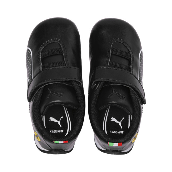 Scuderia Ferrari Future Cat Ultra Toddler Shoes, Puma Black-Puma White, large