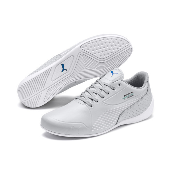 Mercedes AMG Petronas Drift Cat 7S Ultra Men's Shoes, Mercedes Team Silver-White, large