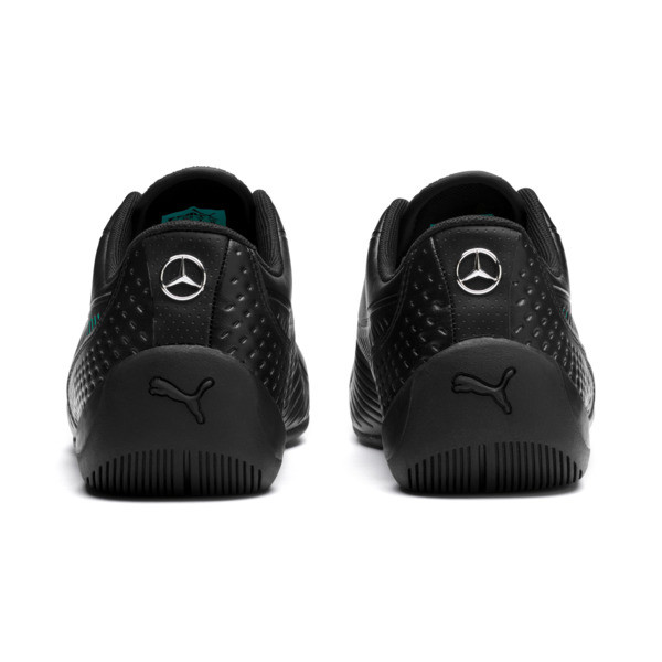 Mercedes AMG Petronas Drift Cat 7S Ultra Men's Trainers, Puma Black-Spectra Green, large