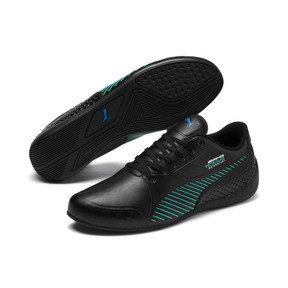 Thumbnail 2 of Mercedes AMG Petronas Drift Cat 7S Ultra Shoes, Puma Black-Spectra Green, medium