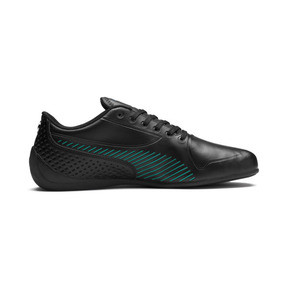 Thumbnail 5 of Mercedes AMG Petronas Drift Cat 7S Ultra Shoes, Puma Black-Spectra Green, medium