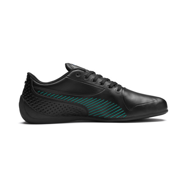 Mercedes AMG Petronas Drift Cat 7S Ultra Men's Shoes, Puma Black-Spectra Green, large